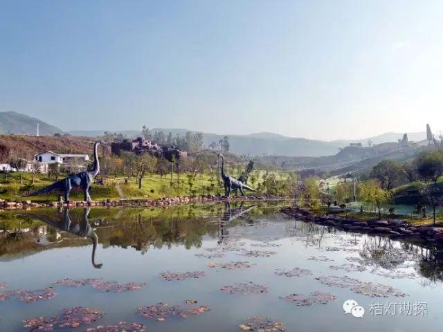 云南禄丰恐龙国家地质公园