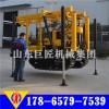 供應帶有液壓高支腿的130型履帶式地質鉆機電啟動柴油機