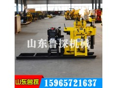 HZ-130Y Hydraulic Well Drilling Machine is selected for 100-meter Water Well Drilling Machine