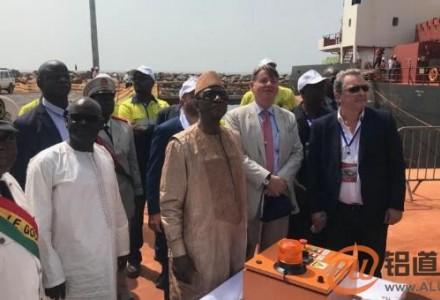 阿鲁法矿业有限公司几内亚贝莱尔矿正式投产开幕式