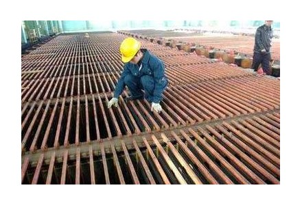 尽管中国铜进口量创纪录 但铜价仍在下滑