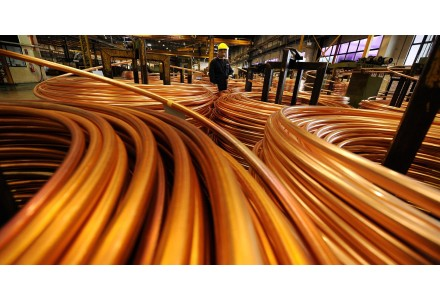 1月全球ξ铜市供应短缺8000吨
