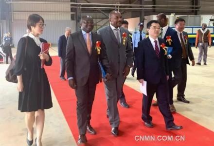 中国中信集团安哥拉铝型材厂落成投产