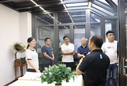 邹平市医疗保障局党组成员、副局长李俊岭一行到魏桥铝深加工产业园参观