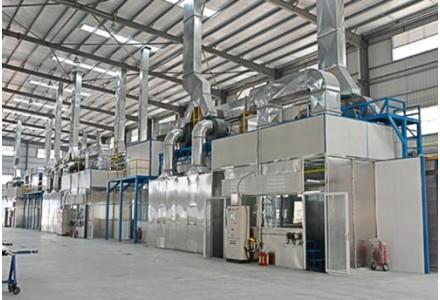 新合铝业开足马力生产防疫设施专用铝型材