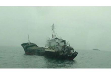 台湾军舰扫荡大陆抽砂船 海峡砂运输开始被船员排斥