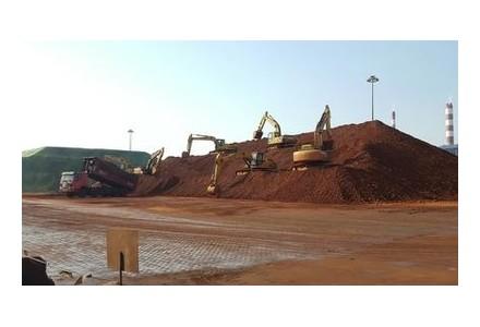 滨州套尓河港区一季度完成魏桥铝土矿989.5万吨