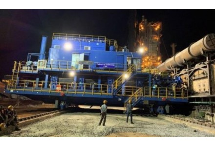 中冶国际承包的印度KFIL年产20万吨热回收焦炉顺利投产