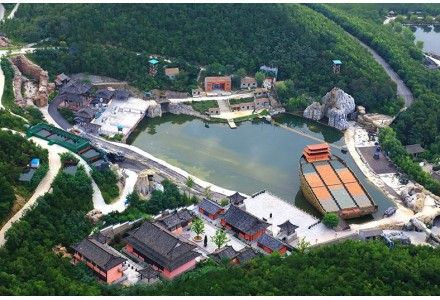 山东威海华夏城矿山生态修复成为推广案例