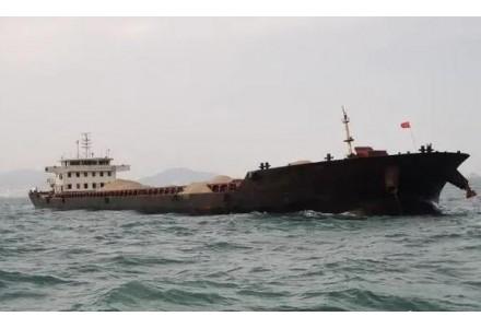 查扣涉案海砂约10000吨!连江海域查获一起非法采矿案!