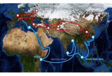 """中国通过""""一带一路""""联通中国与世界,为全球经济复苏注入强心剂"""