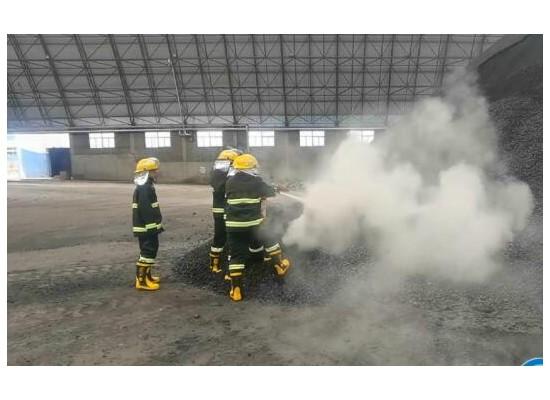 陕北矿业龙华公司开展突发环境事件应急预案