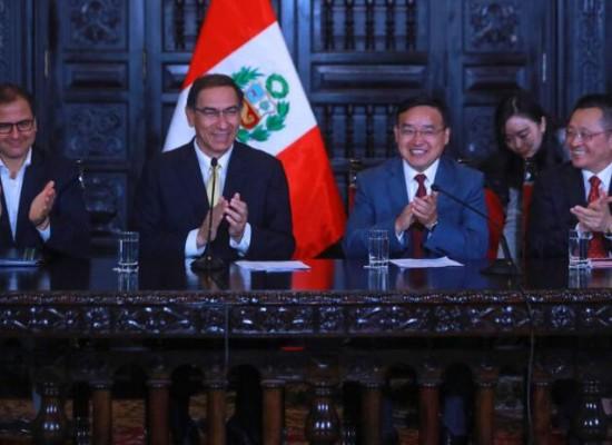 中铝秘鲁矿业与秘鲁签订零排放废水协议