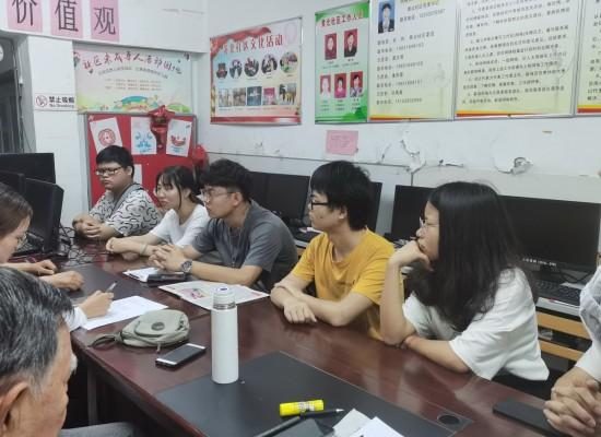 中國礦業大學破疫2021后疫情時代社區管理調查團宣傳活動