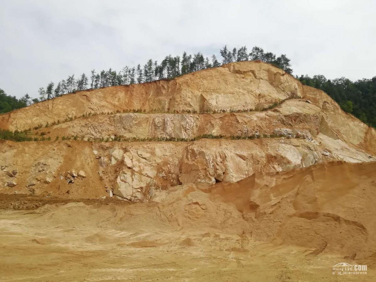 陕西省洛南县大型花岗岩