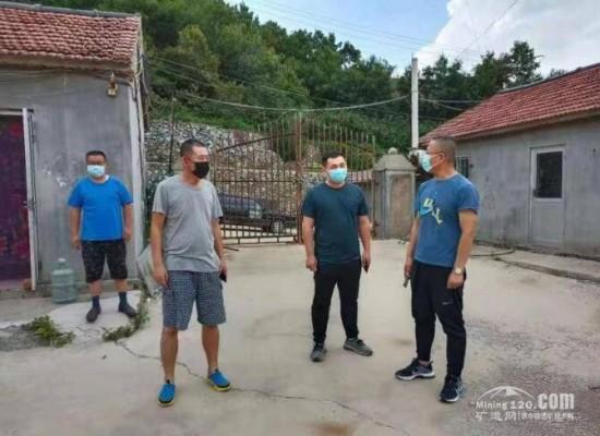 栖霞市14家矿山企业开展节前安全检查工作