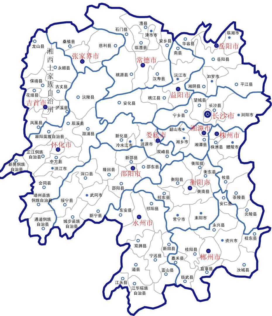 湖南地圖 (1)